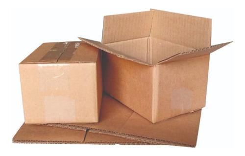 Imagen 1 de 3 de Caja Carton E-commerce 16x11 X9cm 50 Pzas Corrugado Kraft