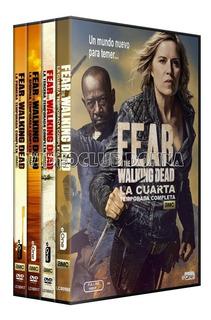Fear The Walking Dead Importe Por Temporada Dvd 1 2 3 4