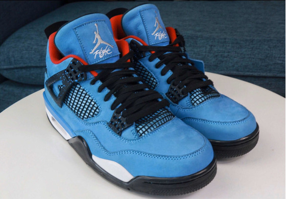 Air Jordan 4 X Travis Scott Cactus Jack Original