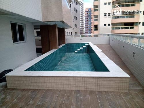 Apartamento À Venda, 102 M² Por R$ 520.000,00 - Aviação - Praia Grande/sp - Ap10089