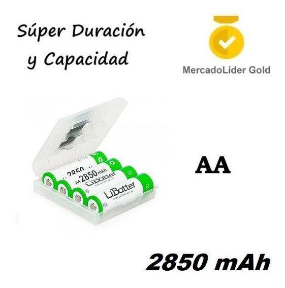 4 Baterias Recargables Aa | Super Duracion | 2850mah