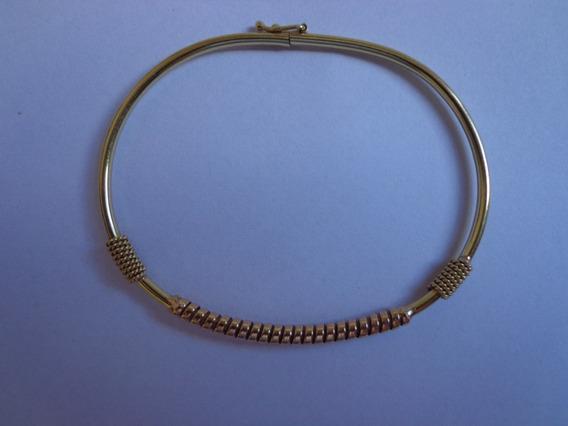 Bracelete Feminino Em Ouro 18k 750