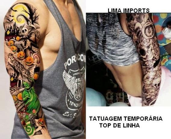 Tatuagem Temporaria Kit 10 Pcs Tattoo 3d Pronta Entrega