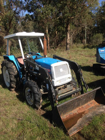 Tractor David Brown Con Retro Y Mitsubishi Con Pala