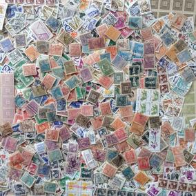+1000 Selos Do Brasil U / N - Lote 05 Frete Grátis Por Carta