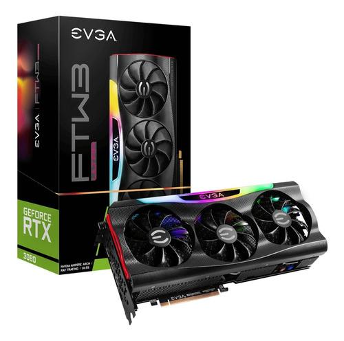 Placa Video Evga Rtx 3080 Ultra Gaming 10gb Gddr6x Icx3 Argb