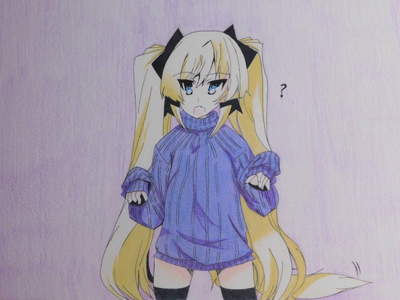 Dibujo Anime Colores Prismacolor Premier Strathmore