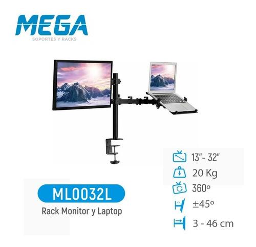 Imagen 1 de 9 de Rack Para Monitor Y Laptop