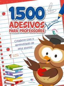 Livro 1500 Adesivos Em Inglês Para Professores Colabore