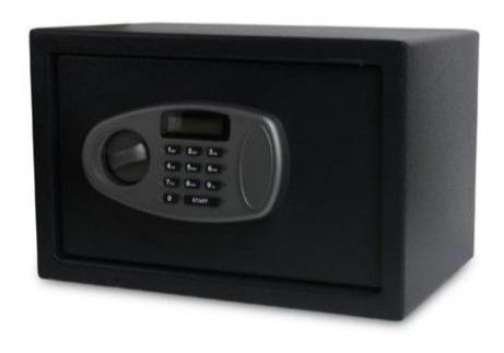 Caja Fuerte Digital Importada Ultra Seguridad 35x25 2 Llaves Factura A Envios Gratis Ideal Hogar Oficina