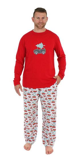 Conjunto De Pijamas Navideños Para Hombres, Camisetas De Ma