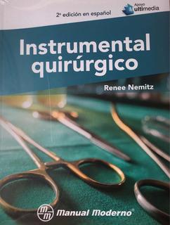 Libro Instrumental Quirúrgico Nemitz 2018 Original
