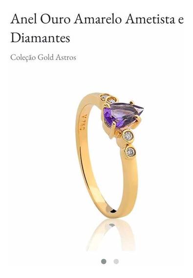 Anel Coleção Gold Astros - Vivara