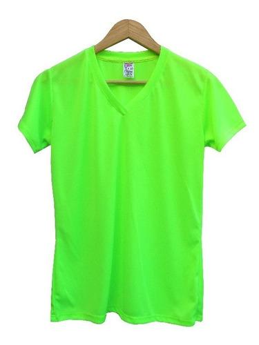 Camiseta Neón- Poliester 100% Para Sublimación