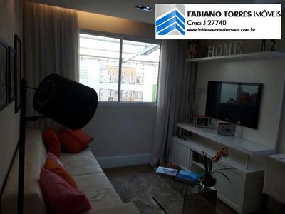 Apartamento Para Venda Em São Bernardo Do Campo, Tiradentes, 2 Dormitórios, 1 Banheiro, 1 Vaga - Colours