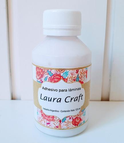 Adhesivo Para Laminas De Decoupage Laura Craft