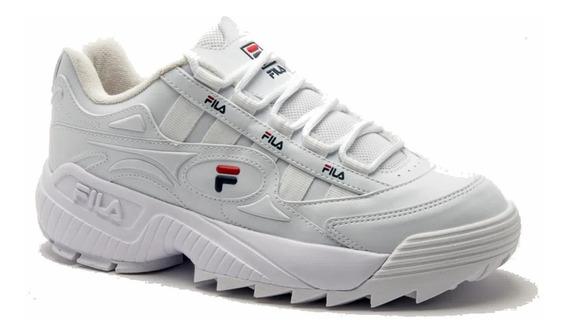 Tenis Fila D-formation Feminino Chunky Sneaker Tratorado