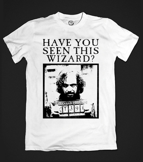 Camiseta Harry Potter - Sirius Black