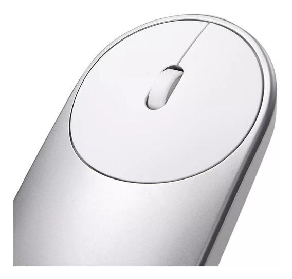 Mouse Sem Fio Xiaomi Mi Portable Wireless Bluetooth - Prata