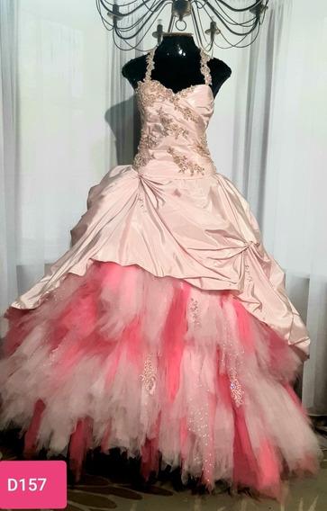 Vestido De Debutante,corpete E Saia.usado