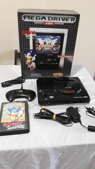 Mega Drive Ii Tectoy - Na Caixa E Muito Bem Conservado