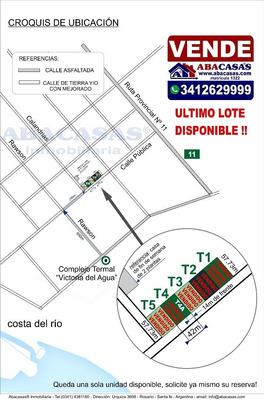 A Metros De Victoria Del Agua! Terreno En Venta En Victoria, Entre Ríos.