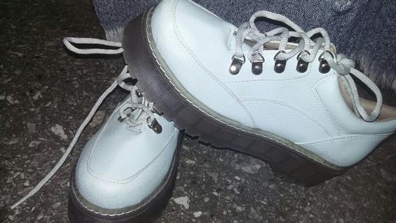 Zapatos Celeste Pastel