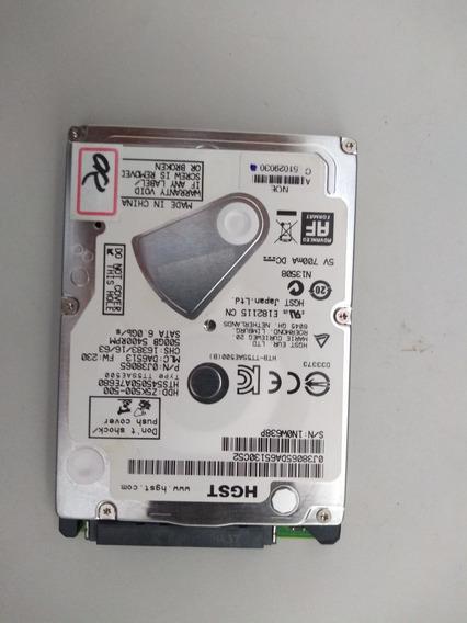 Hd Hgst 500gb Z5k500-500 - Notebook Playstation - Usado