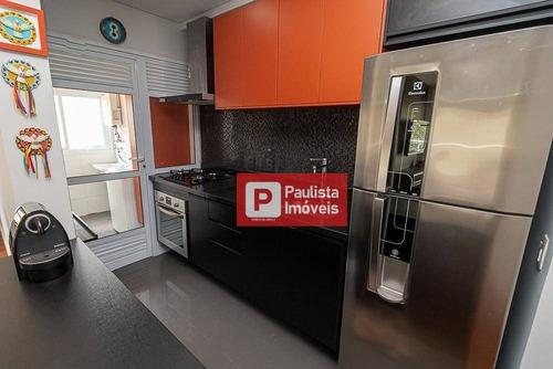 Apartamento Com 1 Dormitório À Venda, 67 M² Por R$ 867.000 - Vila Mariana - São Paulo/sp - Ap29066