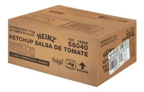 Salsa Catsup Heinz Ketchup 200 Sobres De 9gr C/u