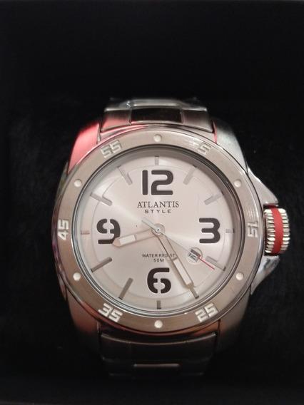 Relógio Masculino Atlantis G-3446 Dourado Serie Luxo