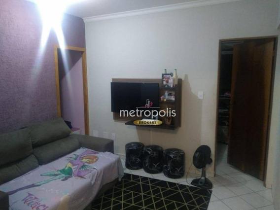 Apartamento Com 1 Dormitório À Venda, 70 M² Por R$ 0 - Nova Gerti - São Caetano Do Sul/sp - Ap3264