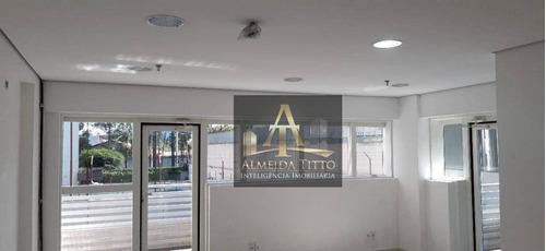 Excelente Sala Comercial Para Locação No Edifício Grajaú - Confira! - Sa0561
