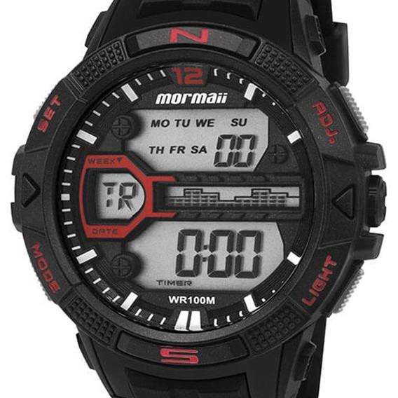 Promoção Relógio Mormaii Esportivo Masc. Mo5000/8p + Frete