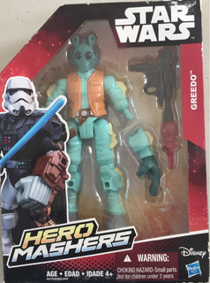 Muñeco Greedo Star Wars Hero Mashers Hasbro