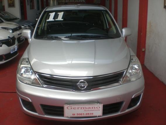 Nissan Tida Sedan 1.8 Flex Prata 10/11
