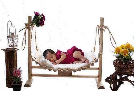 Balanço Newborn Para Fotografia 02 Ensaios De Recém Nascido