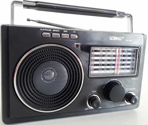 Radio Fm/am/sw1-9 Mp3 Usb Music Player Toca Pendrive Cartão