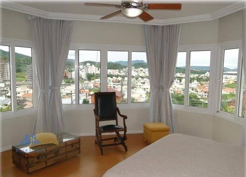 Imagem 1 de 8 de Casa Com 4 Dormitórios À Venda, 407 M² Por R$ 1.600.000,00 - Cidade Universitária Pedra Branca - Palhoça/sc - Ca0142