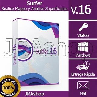 Su .rfer 16 - Realice Mapeo Y Análisis Superficiales