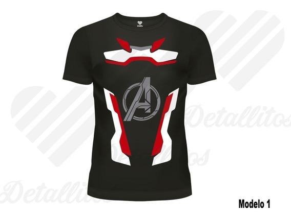 Playera Traje Cuantico Avengers Endgame