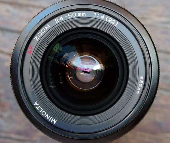 Minolta 24-50mm F4 Af - Full Frame - Sem Detalhes A Relatar