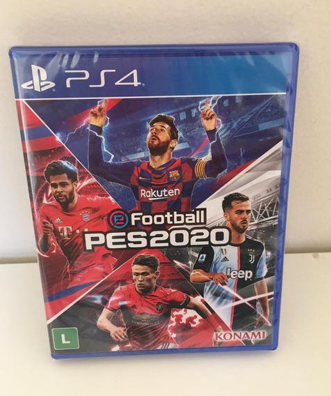 Jogo Efootball Pes 2020 Midia Fisica Pro Evolution 2020 Ps4