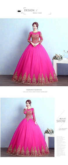 Vestidos Xv Años Quinceaños 15 Azul Dorado Rosa Buen Fin Ngo