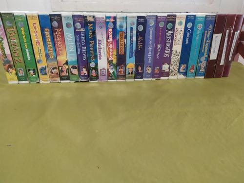 Coleccion Peliculas Originales Disney Vhs