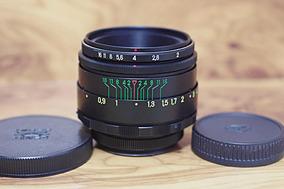 Helios 44-2 58mm 2,0 M42 Canon Pentax Nikon