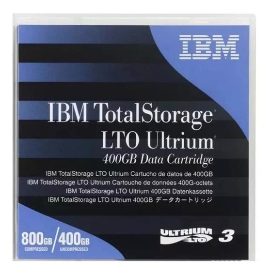 Fita Lto 3 Ultrium 800/400 Gb Data Cartridge Ibm