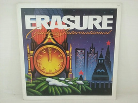 Lp - Erasure - Crackers International - 1989
