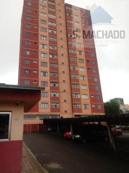 Apartamento Para Venda Em Santo André, Conjunto Jaú, 2 Dormitórios, 1 Banheiro, 1 Vaga - Ve1526