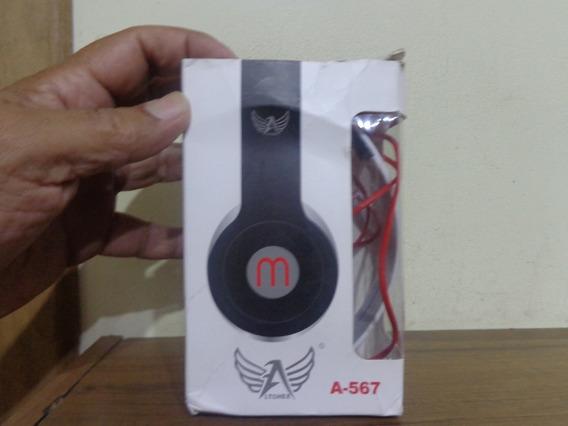 Fone De Ouvido A-567 Megan Stereo Headphone Ltomex